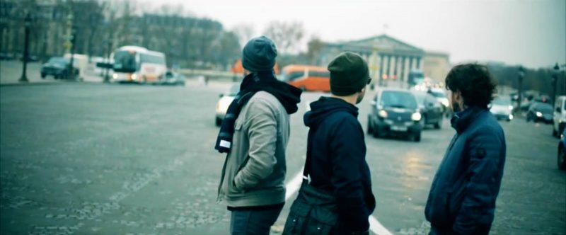 Les membres du groupe On a créé un monstre dans leur dernier vidéoclip tourné en France.   Photo: Gracieuseté