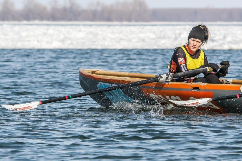 La 3e édition de la Course de canot à glace de Sorel-Tracy s'est déroulée aujourd'hui. | Photo: TC Media - Pascal Cournoyer, Pascal Cournoyer