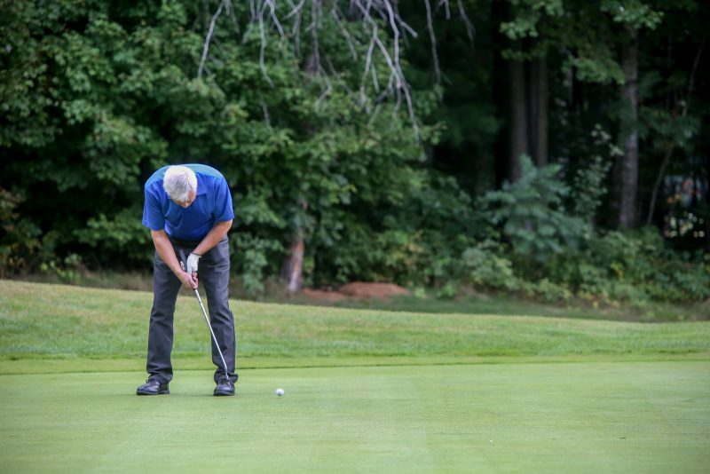 Plusieurs amateurs auront la chance de jouer une ronde de golf avec un professionnel. | TC Média – Archives/Pascal Cournoyer