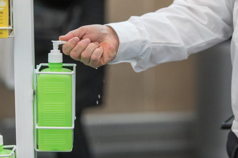 À l'intérieur du CISSS Montérégie-Est, le secteur de Sorel-Tracy obtient les moins bons résultats en termes de lavage de mains. | Photo: TC Media – Denis Germain