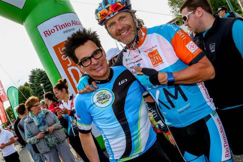 Le maire Serge Péloquin et Pierre Lavoie. | Photo: TC Média - Pascal Cournoyer