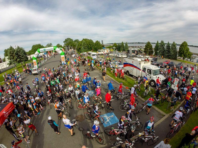 Une vue d'ensemble du parc Regard-sur-le-Fleuve. | Photo: TC Média - Pascal Cournoyer