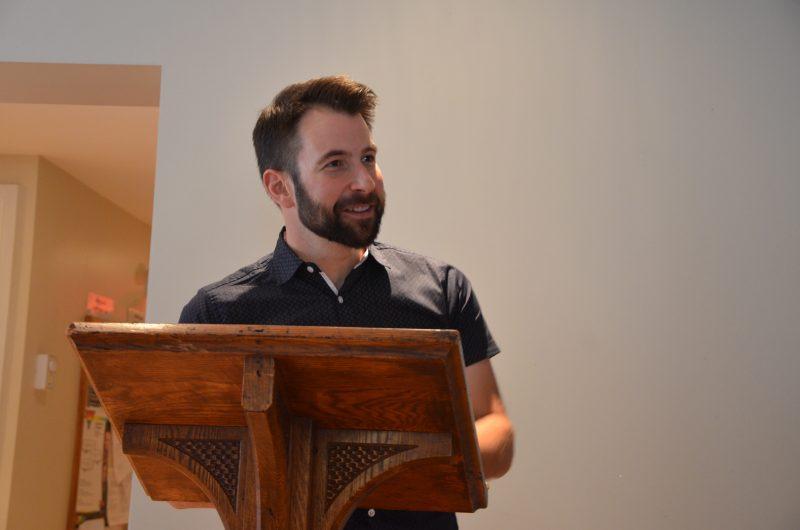 Le conseiller Patrick Péloquin entre dans la course des élections municipales 2017. | TC Média - Sarah-Eve Charland
