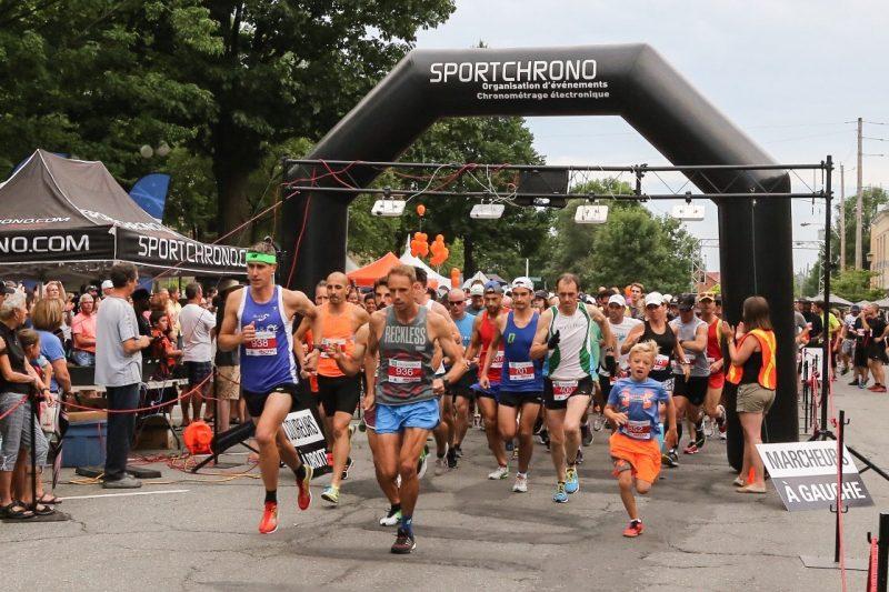 La course tenue pendant la Fête au centre-ville a rapporté 18 000$ au Festival, avait annoncé le maire Serge Péloquin en déposant le bilan des festivités. | Photo: TC Média - Pascal Cournoyer