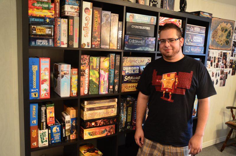 David Couto a lancé la chaîne Professeur Board Game. | TC Média - Sarah-Eve Charland
