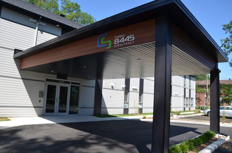Quarante-huit unités ont été aménagées pour accueillir les étudiants du Cégep de Sorel-Tracy. | TC Média - Sarah-Eve Charland