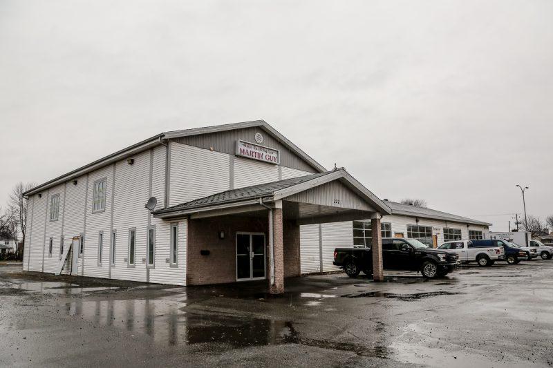 La salle Tandem deviendra un petit centre commercial au printemps 2016. | TC Média - Pascal Cournoyer