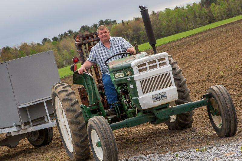 Le commissaire agricole Alain Beaudin est confiant que les producteurs connaîtront une bonne saison malgré la crue importante des eaux ce printemps. | Photo: TC Média -Pascal Cournoyer