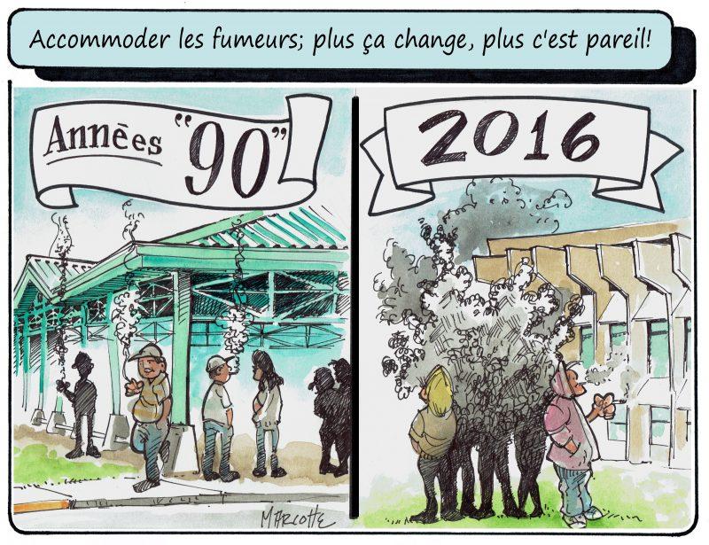 Gilles Bill Marcotte réagit aux articles sur les fumeurs à l'école secondaire Fernand-Lefebvre! | Gilles Bill Marcotte