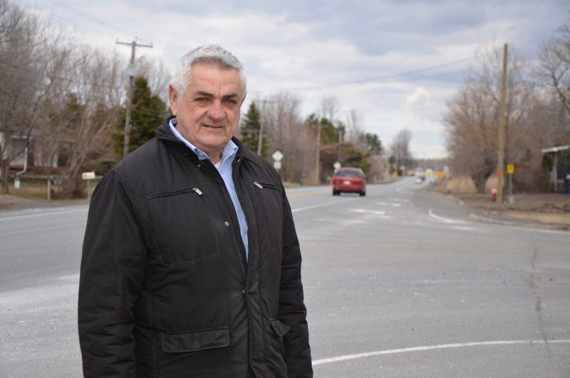 Le maire de Saint-Robert et préfet de la MRC Pierre-De Saurel, Gilles Salvas, souhaite relancer le dossier du prolongement de l'autoroute 30. | TC Média - Sarah-Eve Charland
