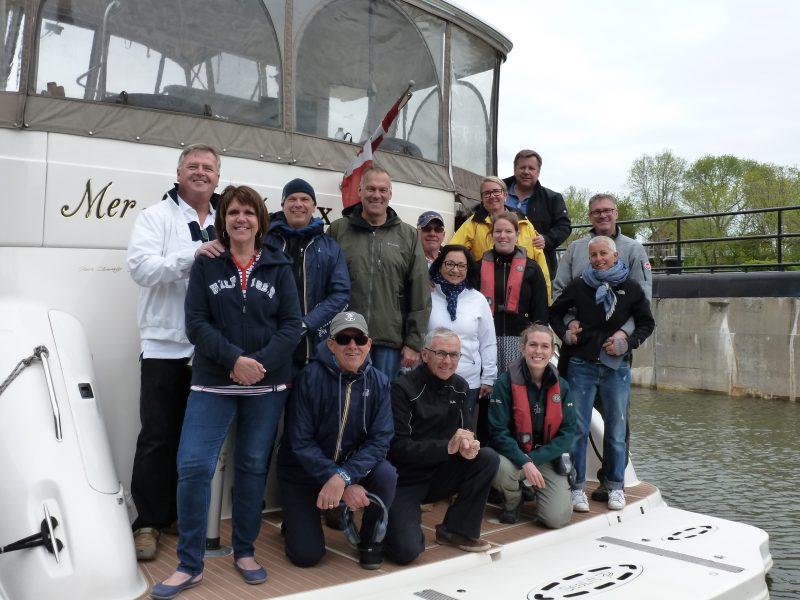 Les premiers plaisanciers de la saison au lieu historique national du Canal-de-Saint-Ours | Gracieuseté