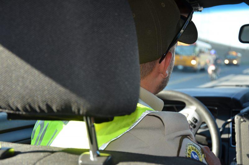 Les policiers ont mené des opérations ciblées décidées en fonction du nombre de véhicules qui roulent sur ces routes et leur vitesse. | Photo: TC Média - archives