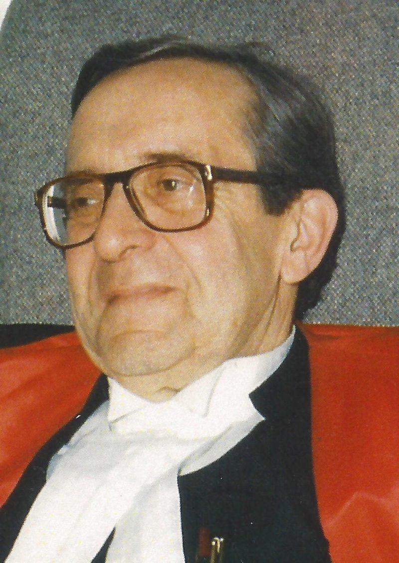 L'ex-juge Paul-A. Bélanger | Gracieuseté