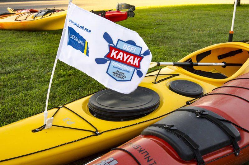 Le Défi kayak Desgagnés Montréal-Québec en est à sa deuxième année. | Photo: TC Média – Stéphane Martin