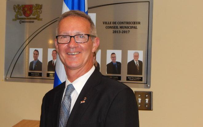 Claude Bérard, candidat du district #2 à Contrecœur. | Gracieuseté