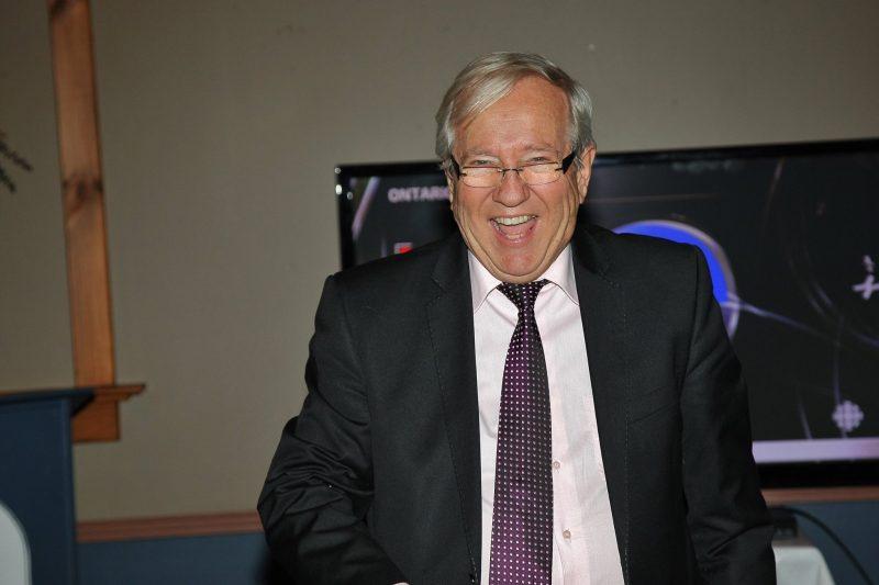 Louis Plamondon, heureux de revenir pour un 10e mandat. | TC Média - Pascal Cournoyer