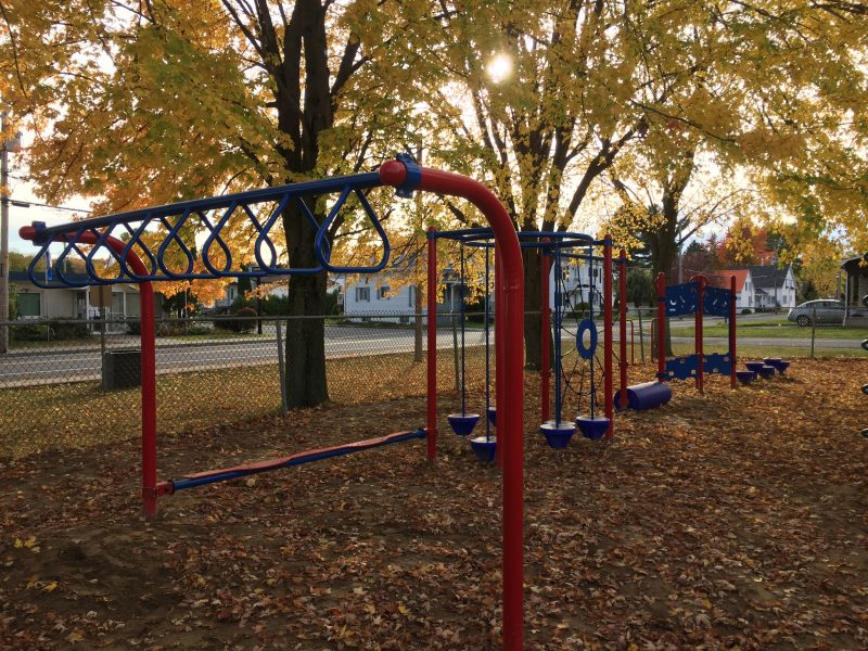 Le parc de l'école Christ-Roi sera bonifié.   Photo: MRC de Pierre-De Saurel