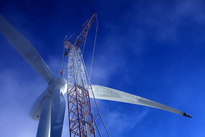 La construction du parc éolien débutera en 2016 à Saint-Robert, Yamaska et Saint-Aimé. | Photo: Gacieuseté Senvion/ Joan Sullivan