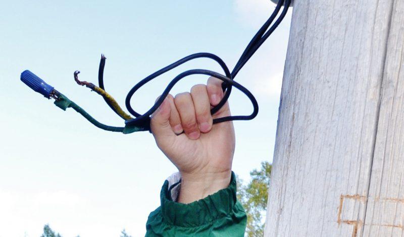 Un cambrioleur de cuivre s'est fait pincer sur les lieux de son crime le 15 janvier. | Photo: TC Média - Archives