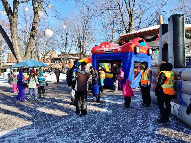 Les Plaisirs d'hiver auront lieu dans plusieurs municipalités de la région. | TC Média - Archives