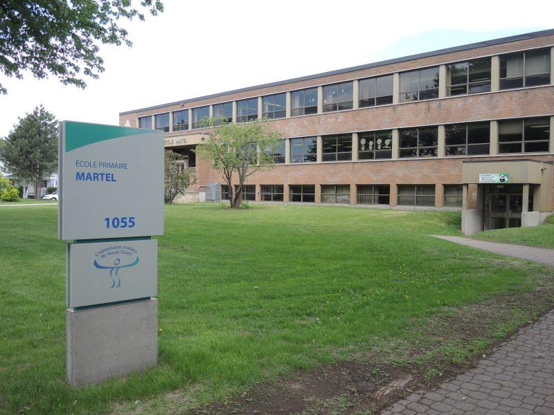 L'école Martel subira une mise à niveau importante. | Photo: TC Média - Archives
