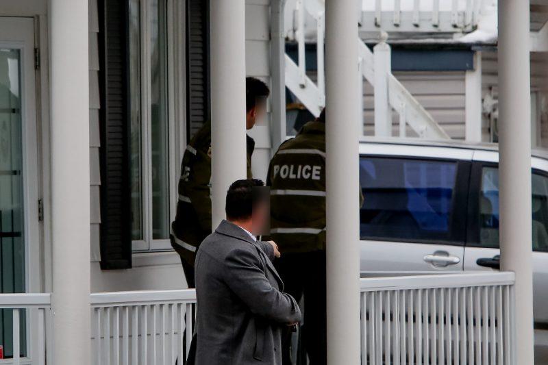 L'homme s'est rendu pacifiquement après s'être barricadé pendant environ deux heures. | TC Media