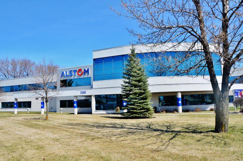 General Electric (anciennement Alstom) compte toujours déménager son centre administratif vers la Rive-Sud de Montréal malgré une rencontre positive avec des intervenants économiques et des politiciens de la région le 3 mai. | TC Média - Julie Lambert