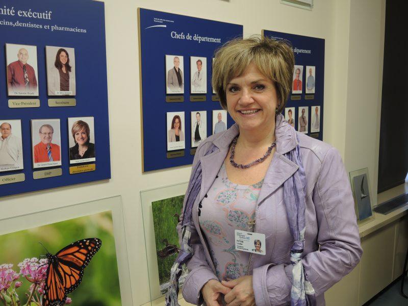 La présidente-directrice générale du CISSS Montérégie-Est, Louise Potvin.