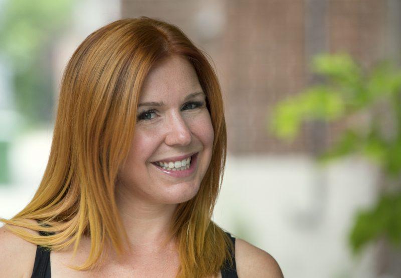 L'écrivaine et humoriste de la région Marie-Christine Lachance. | Photo: Gracieuseté – Mike Pelland