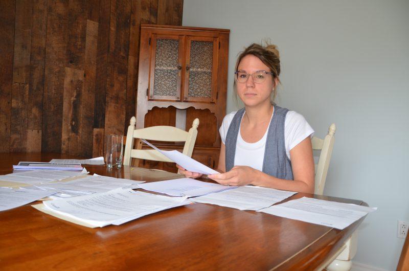 Marie-Ève Langelier espère éduquer d'autres mères sur le statut d'une gardienne aux yeux des instances gouvernementales. | TC Média - Sarah-Eve Charland