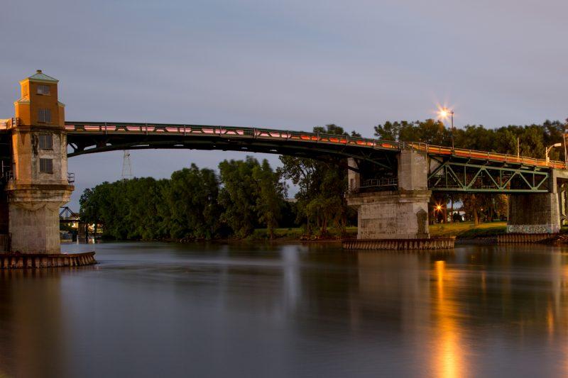 Des travaux d'entretien se dérouleront sur le pont Turcotte du 26 au 29 juin à Sorel-Tracy. | Pascal Cournoyer