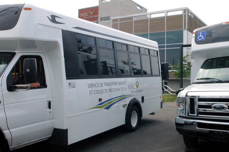 Le transport collectif est un des projets dans lequel de l'argent provenant du pacte rural a été investi. | Photo:TC Média - Archives