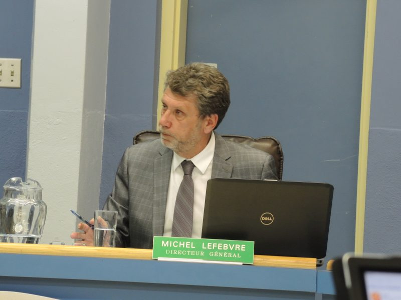 Le directeur général de la Commission scolaire de Sorel-Tracy, Michel Lefebvre | TC Média - Archives