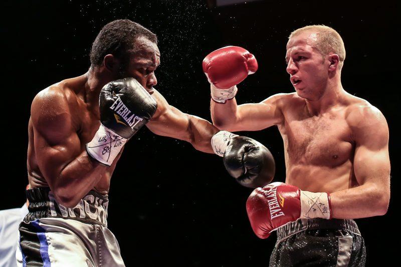 David Théroux continue à s'entraîner fort et vise ramener la boxe à Sorel-Tracy dès cet automne. | TC Média – Pascal Cournoyer