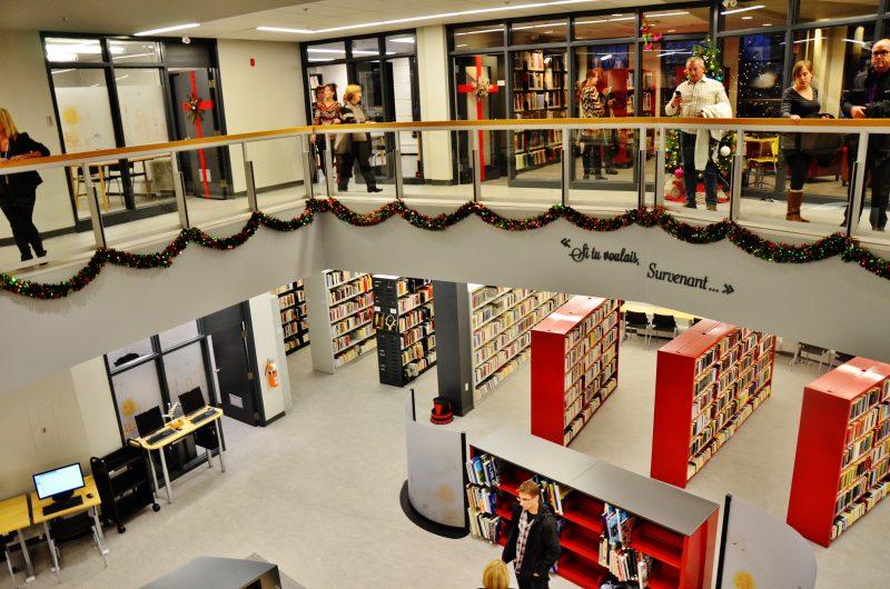 La bibliothèque Le Survenant est située au 145, rue George à Sorel-Tracy. | TC Média - Julie Lambert