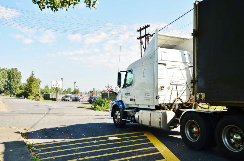 Le débat entourant la route industrielle et les camions lourds circulant à Saint-Joseph-de-Sorel dure depuis environ 20 ans. | Photo: TC Média - archives
