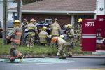 Collision sur le boulevard Fiset: deux blessés