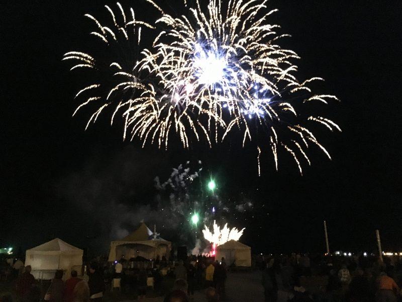 Des feux d'artifice ont été présentés à Sorel-Tracy lors de la Fête nationale. | Photo: Gracieuseté – Joël Laroche