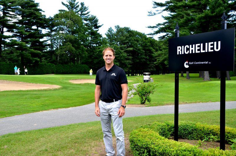 Christian Manègre pilote un projet de développement récréotouristique et résidentiel au golf Continental. | Photo: TC Media – Julie Lambert