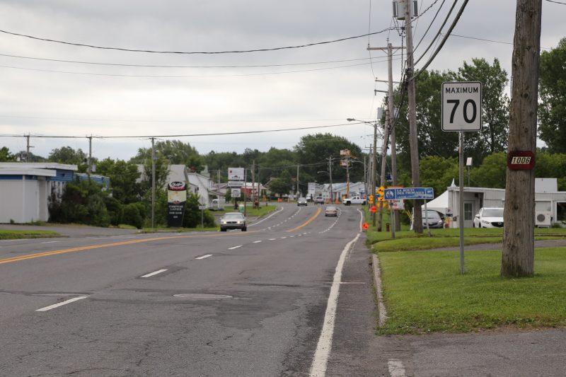 Le ministère des Transports a écarté la demande de réduction de vitesse sur le boulevard Fiset et proposé d'autres options à la Ville. | Photo: TC Media – Pascal Cournoyer