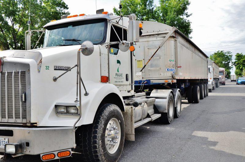 Les camions lourds et le bruit font encore pester plusieurs citoyens du centre-ville. | Photo: TC Media – Archives