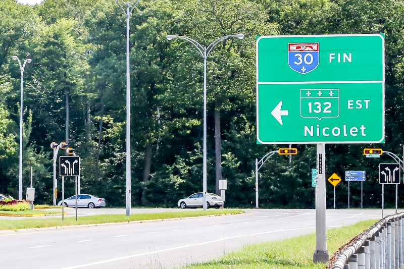 Le désir de Sorel-Tracy de voir l'autoroute 30 se prolonger vers Bécancour a refait surface.   Pascal Cournoyer