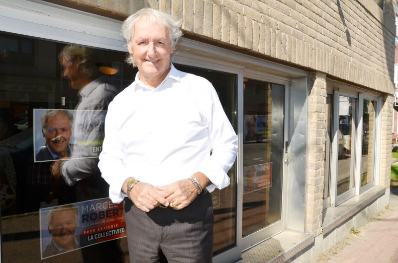 Marcel Robert a dévoilé le 22 septembre les grandes lignes de son programme électoral dans son local de campagne sur la rue du Prince. | Photo: TC Media – Julie Lambert