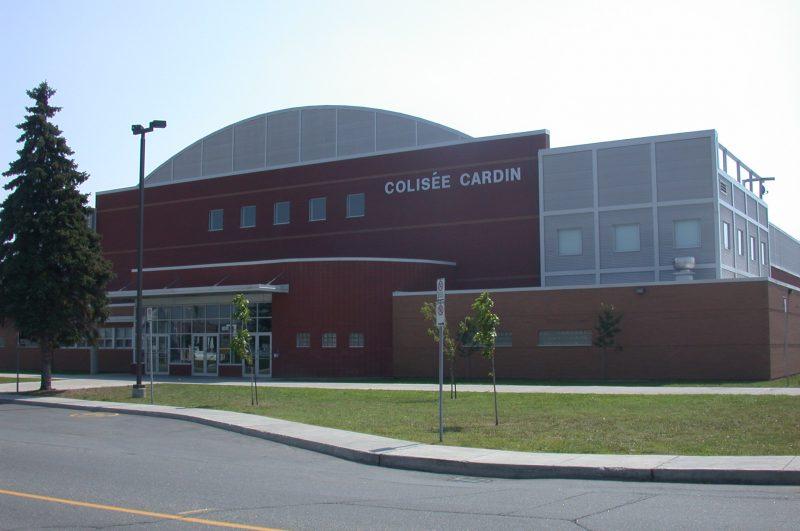 La billeterie du Colisée Cardin subira des rénovations. | Photo: TC Media - Archives