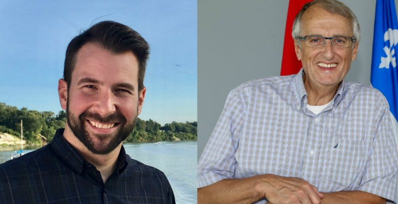 Les conseillers Patrick Péloquin et Jocelyn Mondou seront de retour à la table du conseil municipal de Sorel-Tracy. | Photos: Montage TC Media