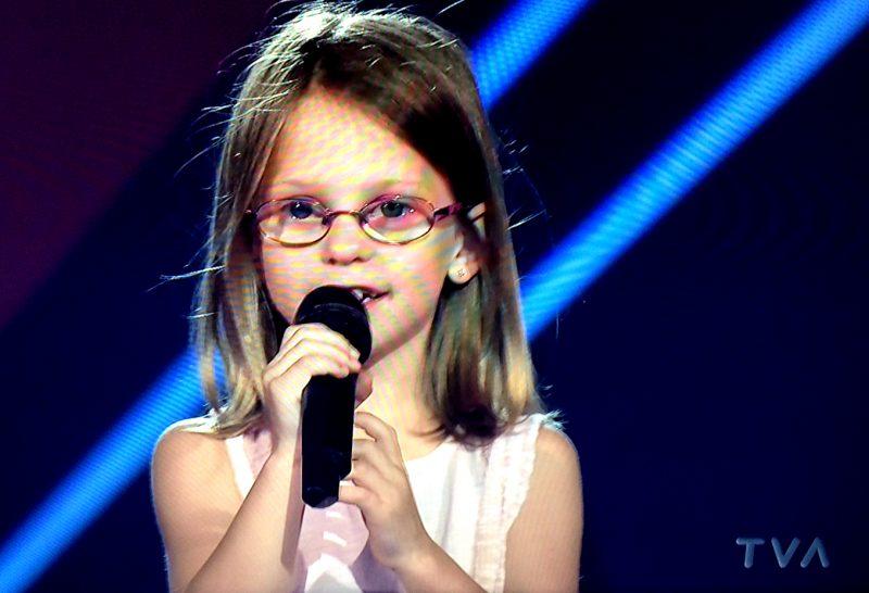 Isabelle Simard fait partie de l'équipe de Marc Dupré à la Voix junior. |  © Photo: Capture d'écran