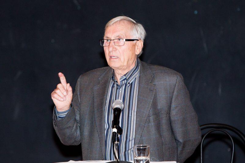 Les échanges ont été musclés lors du premier débat qui opposait les candidats à la mairie de Sorel-Tracy. | Photos par Photos: TC Media - Pascal Cournoyer