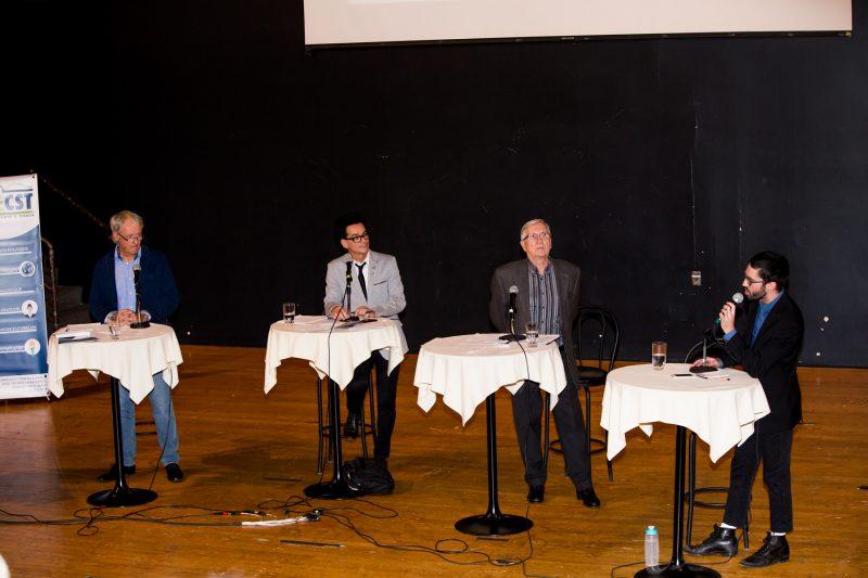 Les quatre candidats à la mairie de Sorel-Tracy connaîtront leur sort dimanche soir. |  © Photo: Pascal Cournoyer
