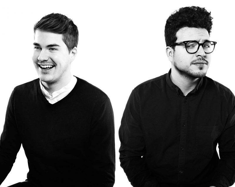 Les humoristes Julien Lacroix et Mehdi Bousaidan feront rire le public lors de leur spectacle le 24 février. | Photos par Photo: Gracieuseté