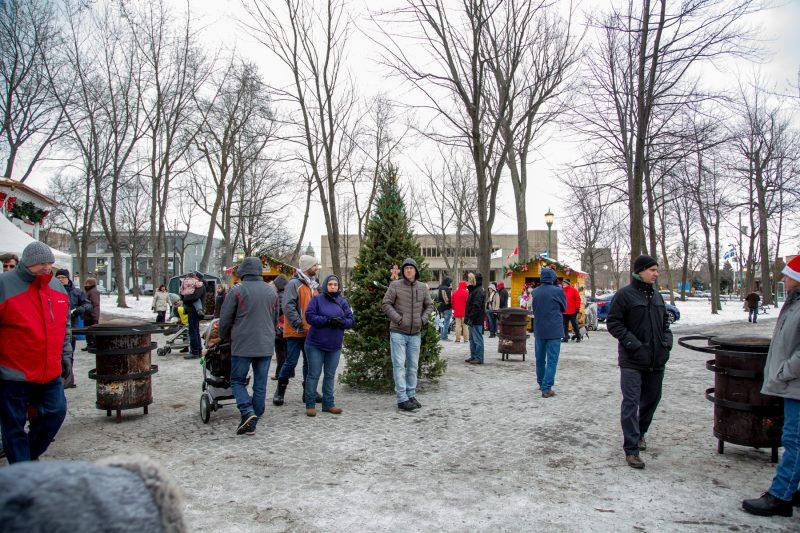 Le Marché de Noël de Sorel-Tracy avait accueilli 2500 visiteurs en 2016. |  © Pascal Cournoyer
